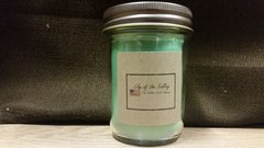 Lily of the Valley 8 ounce jar candle