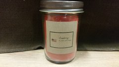 Cranberry 8 ounce jar candle