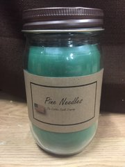 Pine Needles 16 ounce jar candle