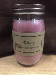 Mulberry 16 ounce jar candle