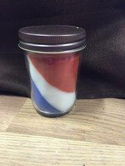 Swirl American Spirit jar candle