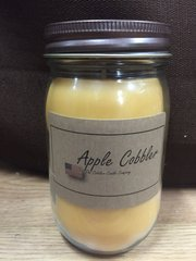 Apple Cobbler 16 ounce jar candle