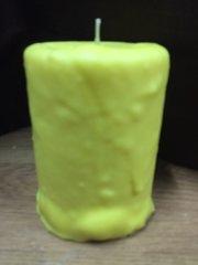 Lemon Peel large cake candle