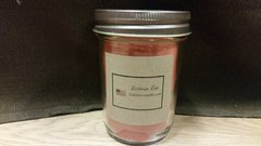 Victorian Rose 8 ounce jar candle
