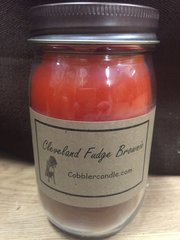 Cleveland Fudge Brownie 16 ounce jar candle