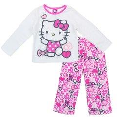 Hello Kitty Toddler Girls 2 Piece Pajama Set