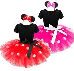 Girls Minnie Inspired Tutu Party Dress