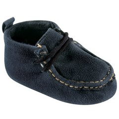 LUVABLE FRIENDS WALLABEE INSPIRED BOOT, NAVY
