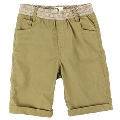 Toddler Boys Copper Denim Twill Shorts - Khaki