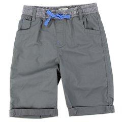 Toddler Boys Copper Denim Twill Shorts - Shadow