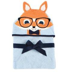 Hudson Baby Animal Face Hooded Towel, Fox
