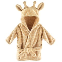 HUDSON BABY PLUSH BATHROBE, GIRAFFE