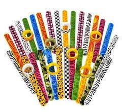 Funky Fun Slap Bracelet, 2pk (choose Male or Female)