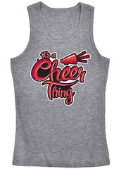Cheer Tank Top (Gray)