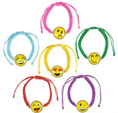 """BFF"" Emoji Bracelets, 2-pk (assorted colors)"