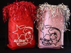 ASY Logo Drawstring Tote Bag