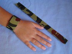 Camouflage Slap Bracelet