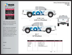 Chevy Colorado Extended Cab 2012 - Complete Kit