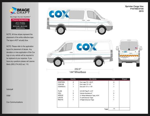 Sprinter Passenger Van (144 WB) 2015 - Complete Kit (480)