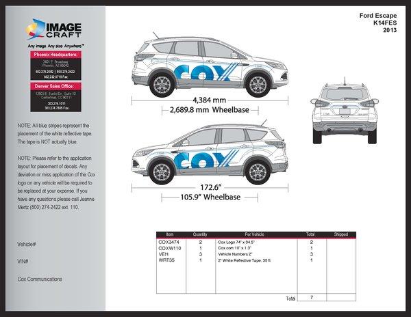 Ford Escape 2013 - A la Carte