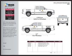 Chevy Silverado, Extended Cab, 2006 - Manheim - Kit