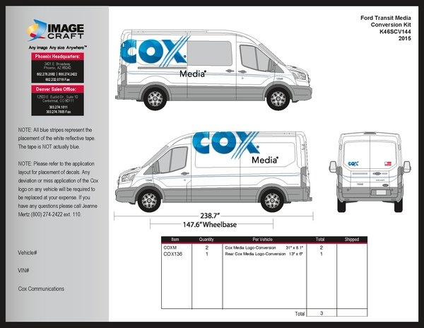 Ford Transit-2015-Conversion Kit - Media