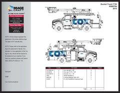 Bucket Truck F750 2015 - A la Carte