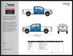 Ford F150 Super Cab - Wall to Wall Fast - 2017 - Complete Kit
