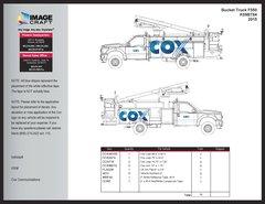 Bucket Truck F550 2015 - with Walkway A la Carte