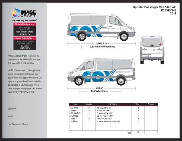 Sprinter Passenger Van (144 WB) 2012 - A la Carte