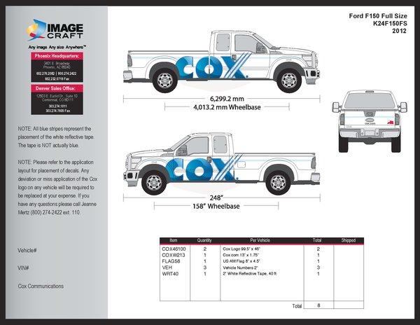 Ford F150 2012 - Complete Kit