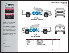 Chevy Colorado Extended Cab 2015 - Complete Kit