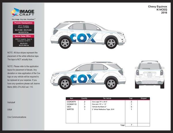 Chevy Equinox 2016 - A la Carte
