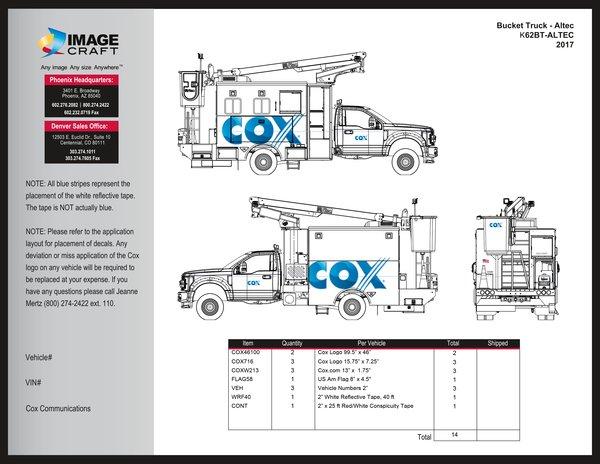 Bucket Truck - Altec - 2017 A la Carte