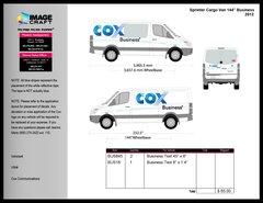 Sprinter Cargo Van 2012 - Business - Conversion Kit