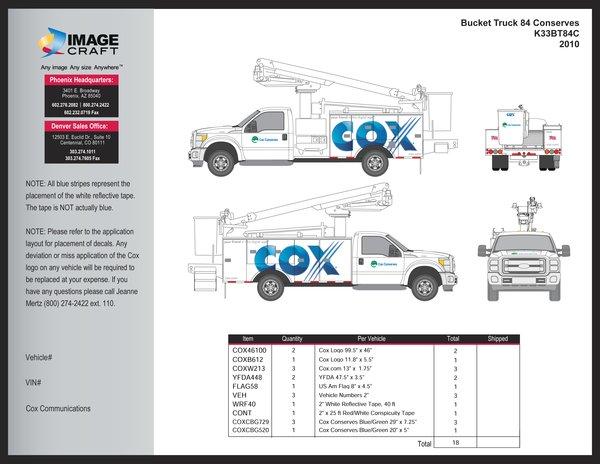 Bucket Truck F150 2010 - A la Carte
