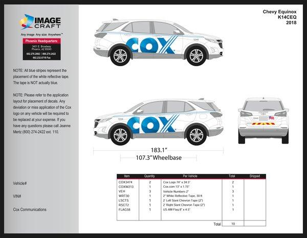 Chevy Equinox 2015-2018 - A la Carte