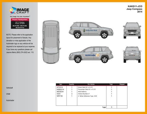 Jeep Compass 2014 - Autotrader/KBB - A La Carte