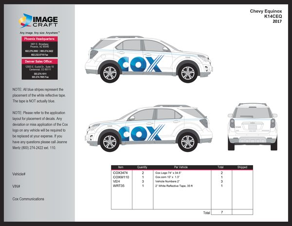 Chevy Equinox 2017 - Complete Kit