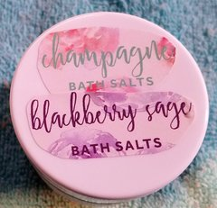 Champagne and Blackberry Sage Bath Salts
