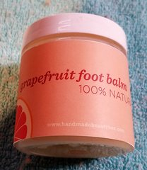 Grapefruit Foot Balm 100% Naural