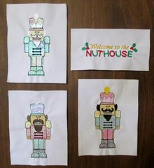 Welcome to the Nuthouse Embroideries