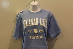 Est. 1846 T Shirt - Light Blue