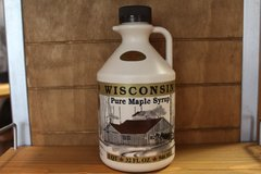 32 oz Wisconsin Pure Maple Syrup
