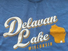 Delavan Lake State Star T-Shirt