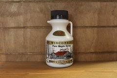 8 oz Wisconsin Pure Maple Syrup