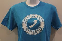 Kids Delavan Lake T-Shirt - Blue