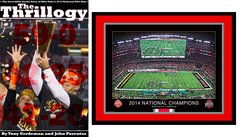 Thrillogy + Framed Championship Print Package Deal