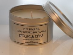 Apples & Spice Soy Candle 8 oz