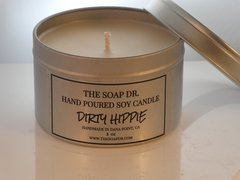 Dirty Hippie Soy Candle 8 oz